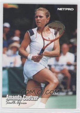 2003 NetPro - [Base] #58 - Amanda Coetzer