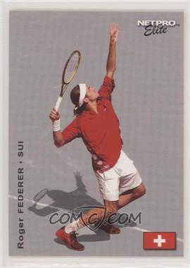 2003 NetPro Elite Series - [Base] #3 - Roger Federer /2000