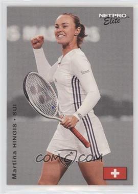 2003 NetPro Elite Series - [Base] #8 - Martina Hingis /2000