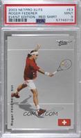 Roger Federer (Red Shirt) [PSA9MINT]