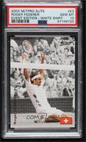 Roger Federer (White Shirt) [PSA10GEMMT]