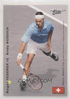 Andy Roddick vs. Roger Federer