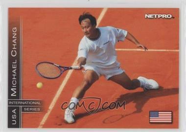 2003 NetPro International Series - [Base] #64 - Michael Chang