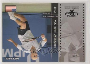 2003 NetPro International Series - [Base] #87 - Andre Agassi