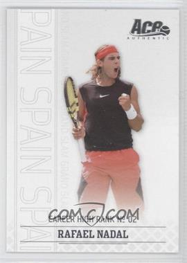 2006 Ace Authentic Grand Slam - [Base] #17 - Rafael Nadal /1199