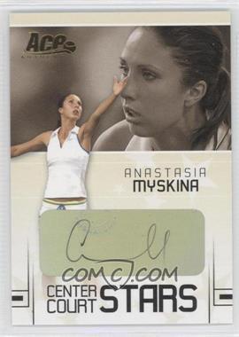 2006 Ace Authentic Grand Slam - Center Court Stars - Signatures [Autographed] #CC-1 - Anastasia Myskina