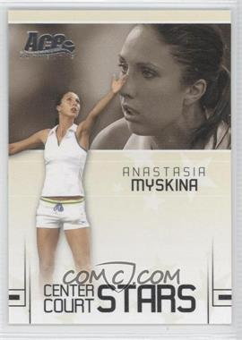2006 Ace Authentic Grand Slam - Center Court Stars #CC-1 - Anastasia Myskina /599
