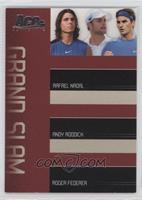 Rafael Nadal, Andy Roddick, Roger Federer