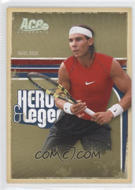2006 Ace Authentics Heroes & Legends - [Base] - Holofoil #65 - Rafael Nadal /100