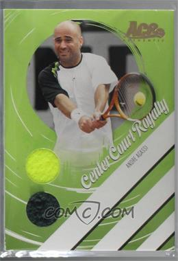 949393a0737cef 2006 Ace Authentics Heroes   Legends - Center Court Royalty - Gold  Ball Towel  Memorabilia   CCR-10 - Andre Agassi  50