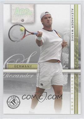 2007 Ace Authentic Straight Sets - [Base] - Silver #40 - Alexander Waske /99