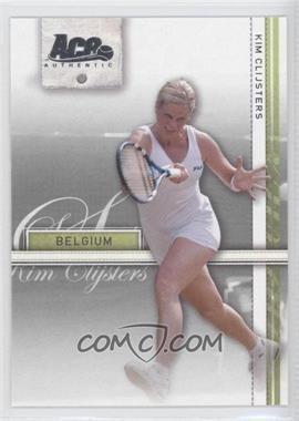 2007 Ace Authentic Straight Sets - [Base] #20 - Kim Clijsters