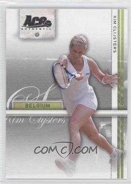 2007 Ace Authentic Straight Sets - [Base] #20 - Kim Clijsters