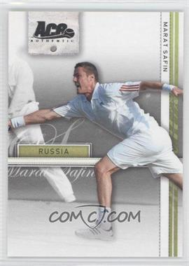 2007 Ace Authentic Straight Sets - [Base] #22 - Marat Safin