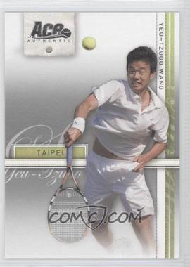 2007 Ace Authentic Straight Sets - [Base] #28 - Yeu-Tzuoo Wang
