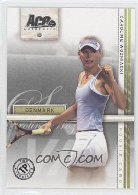 2007 Ace Authentic Straight Sets - [Base] #39 - Caroline Wozniacki