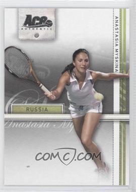 2007 Ace Authentic Straight Sets - [Base] #4 - Anastasia Myskina