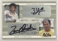 Yeu-Tzuoo Wang, Zack Fleishman #/250