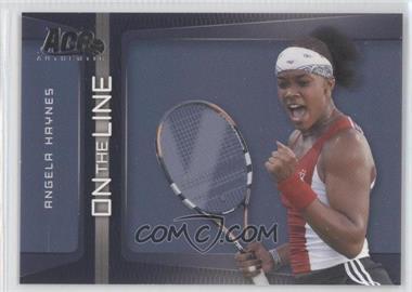 2007 Ace Authentic Straight Sets - On the Line #OL-2 - Angela Haynes