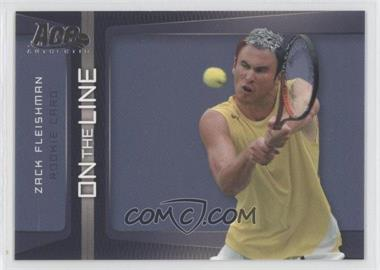 2007 Ace Authentic Straight Sets - On the Line #OL-3 - Zack Fleishman
