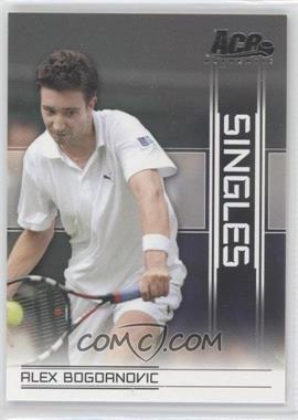 2007 Ace Authentic Straight Sets - Singles #SI-4 - Alex Bogdanovic