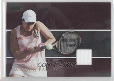 2008 Ace Authentic Matchpoint - Contenders - Jerseys [Memorabilia] #C8 - Marion Bartoli