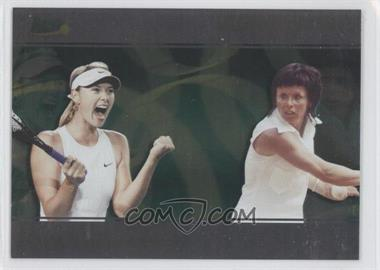 2008 Ace Authentic Matchpoint - Dual #D2 - Maria Sharapova, Billie Jean King
