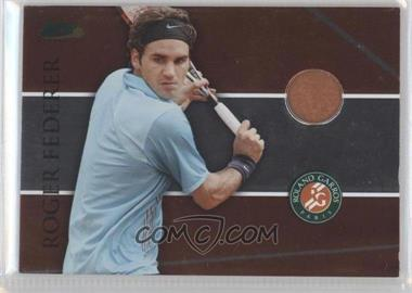 2008 Ace Authentic Matchpoint - French Open - Memorabilia [Memorabilia] #RG14 - Roger Federer