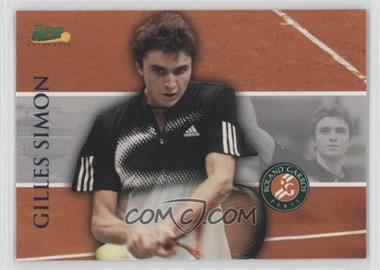 2008 Ace Authentic Matchpoint - French Open #RG16 - Gilles Simon