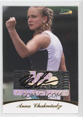 2010 Ace Authentic - Autographs - Gold #41 - Anna Chakvetadze /19