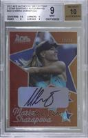 Maria Sharapova [BGS 9 MINT] #/20