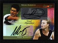Novak Djokovic, Maria Sharapova #/10