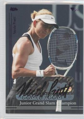 2012 Ace Authentic Grand Slam 3 - [Base] - Blue Foil #78 - Nicole Pratt