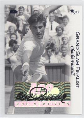 2012 Ace Authentic Grand Slam 3 - [Base] - Purple #3 - Charlie Pasarell