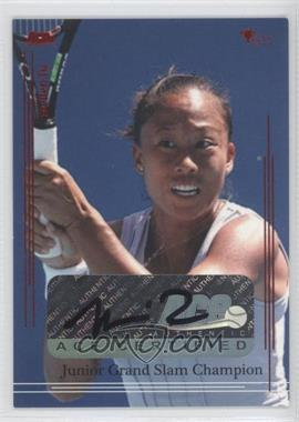 2012 Ace Authentic Grand Slam 3 - [Base] - Red Foil #82 - Meilen Tu