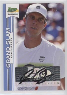 2013 Ace Authentic Grand Slam - [Base] - Blue #BA-SQ1 - Sam Querrey /5