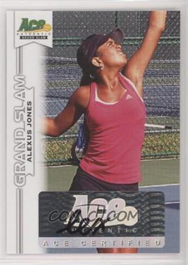 2013 Ace Authentic Grand Slam - [Base] #BA-AJ3 - Alexus Jones