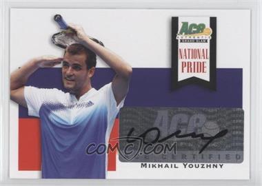 2013 Ace Authentic Grand Slam - National Pride #NP-MY1 - Mikhail Youzhny