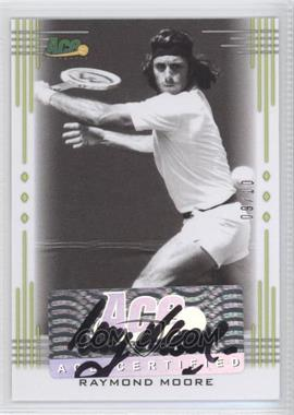 2013 Ace Authentic Signature Series - [Base] - Lime Green #BA-RM1 - Raymond Moore /10