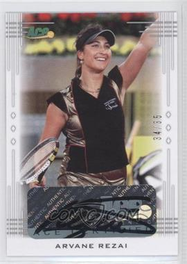 2013 Ace Authentic Signature Series - [Base] #BA-AR2 - Arvane Rezai /35