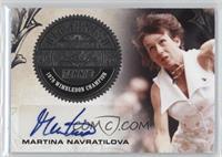 Martina Navratilova #/25