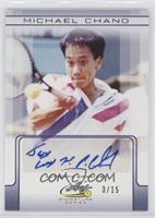Michael Chang #/15