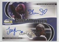 Sloane Stephens, Taylor Townsend /10