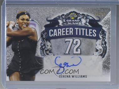 2018 Leaf Grand Slam - Career Titles Autographs #CT-SW1 - Serena Williams
