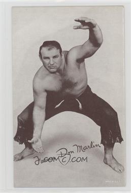 1950s Exhibit Wrestling - [Base] #DOMA - Farmer Don Marlin