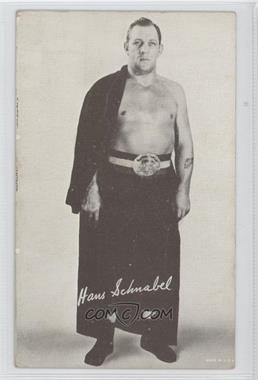 1950s Exhibit Wrestling - [Base] #HASC - Hans Schnabel [GoodtoVG‑EX]