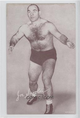 1950s Exhibit Wrestling - [Base] #JOSA - Joe Savoldi [GoodtoVG‑EX]