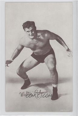 1950s Exhibit Wrestling - [Base] #WAPA - Walter Palmer