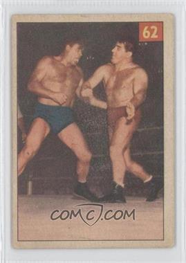 1954-55 Parkhurst Wrestling - [Base] #62 - Bobby Managoff