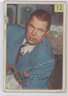 1955-56 Parkhurst Wrestling - [Base] #12 - Bob Wagner